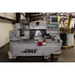 """CNC TOOLROOM LATHE, HAAS MDL. TL-2, new 8/2006, Haas CNC control, 16"""" turning dia., 11.1"""" sw."""