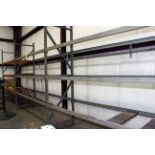 """LOT OF PALLET RACK SECTIONS (3), 24"""" x 10"""" x 3-1/2"""""""