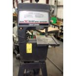 """BANDSAW/SANDER, SEARS 12"""", on fabricated stand, S/N 5257"""