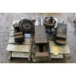 LOT OF MACHINE VISES (on one pallet)