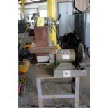 COMBINATION BELT SANDER/GRINDER, PRECISION, 1 HP motor