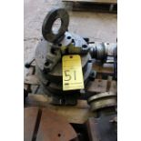 """ROTARY TABLE, 12"""", w/3-jaw chuck"""