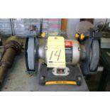 """BENCH GRINDER, RYOBI 8"""", 1/2 HP motor"""