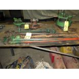 LOT CONSISTING OF: pipe wrenches (2) & pipe cutter