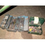 LOT OF TAPS & DRILLS, assorted