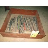LOT OF DRILL BITS, assorted (in one box)