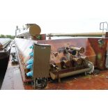 BARGE #NACM98110, (1) USED INDEPENDENT RIVER/SEA GOING TANK BARGE: approximate barge dimensions 200'
