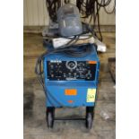 WELDING MACHINE, MILLER DIALARC MDL. HF, 250 amps @ 30 v., 100% duty cycle, S/N JE742241