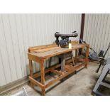 "10"" Craftsman Radial saw w/bench"