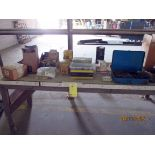 LOT CONSISTING OF: O-Ring kit, Caterpillar engine parts, starter drives, fuse breakers, oil pump,