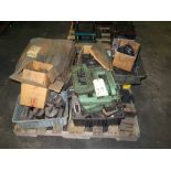 LOT OF TOOLING & PUNCH ACCESSORIES (on one pallet)