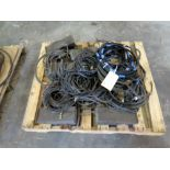 LOT OF TIG WELDING LEADS, assorted