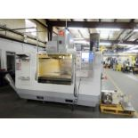 """VERTICAL MACHINING CENTER, HAAS MDL. VF-4B 4-AXIS, new 2007, 18"""" x 52"""" table, 3,500 lb. table"""