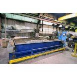 "CNC WATER JET CUTTING MACHINE, ROMEO ""GOLD"", new 2007, Burny 10LCD Plus CNC control, 160"" max."