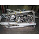 LOT OF STAINLESS STEEL PIPING