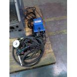 ADAPTER, MILLER MDL. SGA100 SPOOLMATE, w/leads, wire feed & gun, S/N KK225924