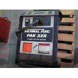PLASMA CUTTER, THERMALARC MDL. PAK5XR, torch & running gear