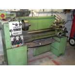 """ENGINE LATHE, EMCO MAIER 13"""" X 30"""" MDL. MAXIMAT V13, spds: 50-2000 RPM, inch/metric thdng., S/N N.A."""