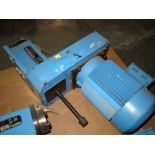 POWERED MILLING ATTACHMENT, SUHNER MDL. BEX35K, #40 NST milling head, 1.5 KW drive motor, belt