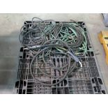 LOT CONSISTING OF: welding leads, hoses & guns (on one pallet)