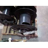 CABLE REEL, 3-phase, H.D., canon plugs