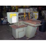 """BANDSAW, HYDMECH MDL. SP20, new 1995, 12"""" rd. cap., end stop, hyd. vise, miter capability, S/N"""