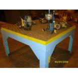 WELDING TABLE, ACORN 5' X 5'