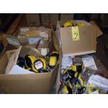 LOT CONSISTING OF: harnesses & safety reels, assorted