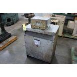 LOT OF TRANSFORMERS: MGM 112.5 KVA dry type 3 ph. 60 Hz 408/240/120 v. & Square D 9 KVA