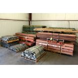 LOT OF PALLET RACKING (disassembled)