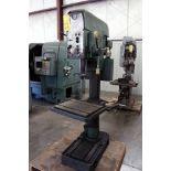 BOX COLUMN DRILL, WMW MDL. AB35S, S/N 2328, 65-1750 RPM