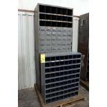 LOT CONSISTING OF: nuts, bolts & parts shelving