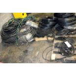 LOT OF RUBBER HOSES