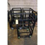 LOT OF FABRICATED ROLLER STANDS
