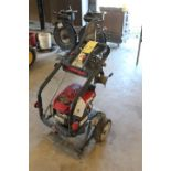 PORTABLE POWER WASHER, TROY BILT MDL. XP, 3,000 PSI, 2.7 GPM output, running gear