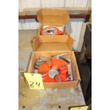 """LOT OF DIE HEADS (2), RIDGID MDL. 811A, 1/8"""" to 2"""" pipe, 1/4"""" to 2"""" bolt (new)"""