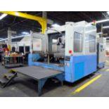 "CNC HORIZONTAL MACHINING CENTER, MAZAK MDL. H800X, new 1996, Mazatrol M Plus CNC control, 31.5"""