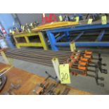 """LOT OF BAR CLAMPS (10), 70"""""""