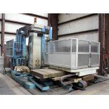 "CNC HORIZONTAL BORING MILL, FEMCO MDL. BMC-110R2, Fanuc 21i-MB CNC control, 4.33"" spdl., 56-1/2"" x"