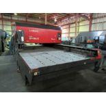 CNC LASER, AMADA MDL. LC2415 II, new 1997, 1,500 watt, Fanuc C1500 laser, Fanuc 16L laser, MP 1530