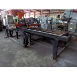 CNC CUTTING MACHINE, WALMAR S.R.L. MDL. WM1500X3000, 5' x 10' cutting cap., Burny 1250+control, (