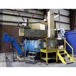 "CNC VERTICAL BORING MILL, O-M LTD MDL. TM2-2ON VERTICAL CNC CHUCKER, Fanuc 15-M CNC control, 78.7"""