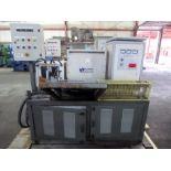 INDUCTION HEATING UNIT, 3VI INDUCAO, 100 kW, 1250 deg. C heating capability, 280 kg max. weight