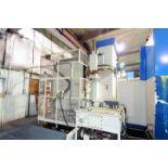 """CNC HORIZONTAL BORING MILL, DOOSAN MDL. DB130C, new 4/2006, Fanuc 18i-MB CNC control, 5.12"""" spindle,"""