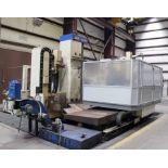 "CNC HORIZONTAL MACHINING CENTER, DAEWOO MDL. ACE-B130, Fanuc Series 16-M CNC control, 5.12"" spindle,"