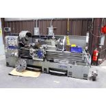 """ENGINE LATHE, SHARP MDL. 268OC, spds: 15-1500 RPM, 26"""" sw. over bed, 80"""" dist. btn. centers, (2)"""