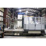 CNC HORIZONTAL BORING MILL, DAEWOO ACE MDL. B130T, est. new 2002, Fanuc Series 16i-M CNC control,