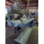 "LONGITUDINAL SEAM WELDER, JETLINE MDL. LWS84Z, 84"" welding length, 6-7/8""-32"" part dia. cap.,"