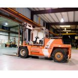 "FORKLIFT, KALMAR MDL. DCD136, new 2000, diesel pwrd., 29,980 lb. cap. @23.62"", 13,600 Kg @ 600mm L."