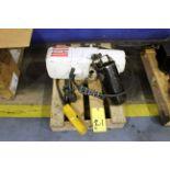 ELECTRIC HOIST, COFFING 1/4 T. CAP.
